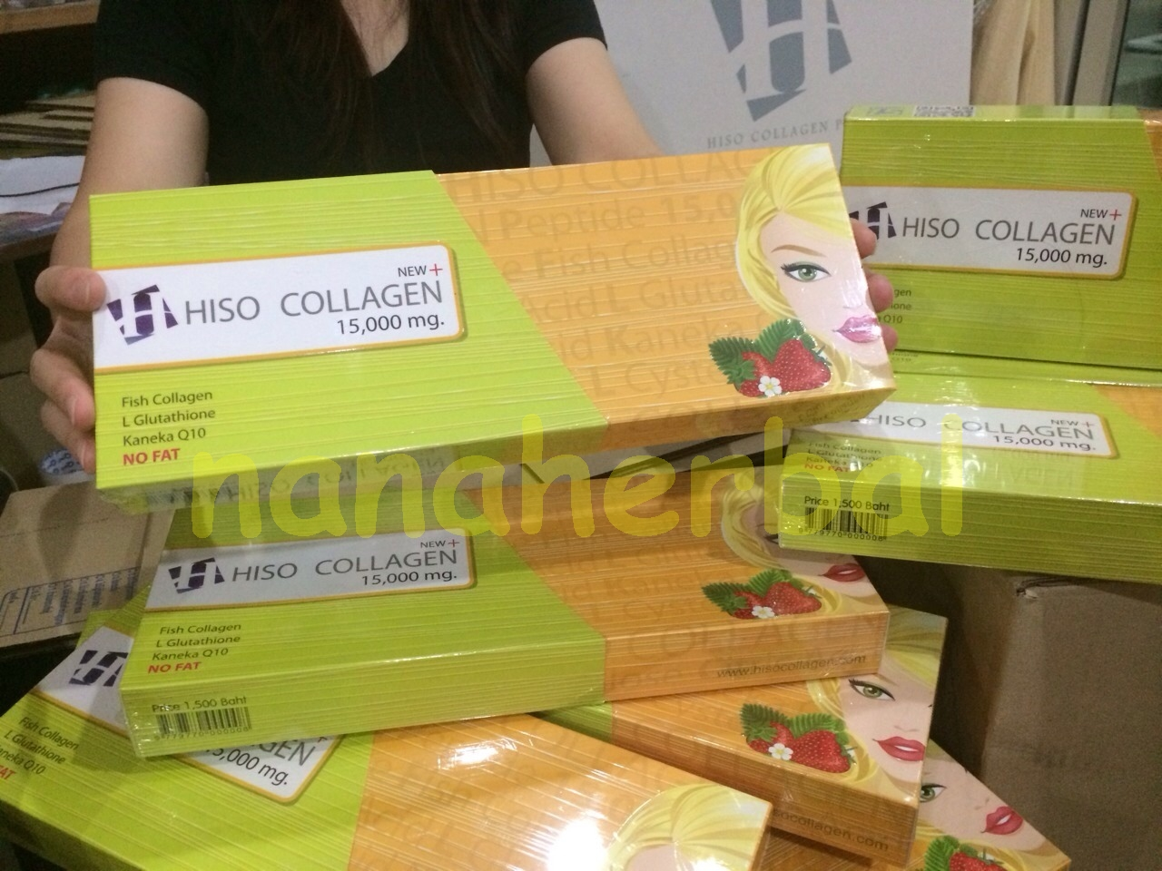 Hiso collagen plus 15000 mg