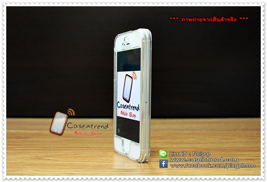 เคสiPhone5 - เคสใสแบบประกบหน้าหลัง