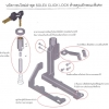 ระบบการป้องกันล็อคเกียร์ โซเล็กซ์ Solex click lock
