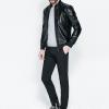 เสื้อหนังสุดเทห์(zara men's motorcycle jacket)