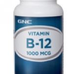 GNC Vitamin B-12 1000 mcg จีเอ็นซ๊ วิตามินบี 12 1000มคก. 100 Tablets Code: 253615 เลขทะเบียน อย. 1C 94/45
