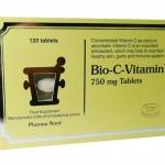 Pharmanord Bio-C-Vitamin 120 tab PharmaNord ( ฟาร์มานอร์ด Pharma Nord ) วิตามินซี