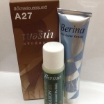 Berina -A27 สีน้ำตาลอ่อนธรรมชาติ