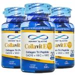 Active Colla Vit E 1000+ Collagen Tri Peptide by Newway แอคทีฟ คอลล่า วิท อี 1000+ คอลลาเจน ไตร เปปไทด์ บาย นิวเวย์ บรรจุ 30 เม็ด