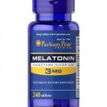 Puritan's Pride Melatonin 3 mg / 240 Tablets สำเนา