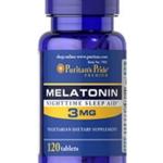 Puritan's Pride Melatonin 3 mg / 120 Tablets สำเนา