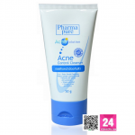 Pharmapure Acne Control Cleanser ขนาด 50g (ฟาร์มาเพียวร์ แอคเน่ คอนโทรล คลีนเซอร์ ) :: เจลล้างหน้า ขจัดและป้องกันสิว สูตร Anti-pollution 4 in 1