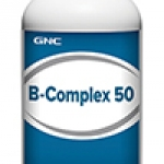 GNC B-Complex 50 จีเอ็นซี บี-คอมเพล็กซ์ 50 (วิตามิน บี รวม) 100 Capsules Code: 017914 เลขทะเบียน อย. 2C 21/53