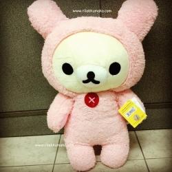 ตุ๊กตา โคะริลัคคุมะ korilakkuma 18นิ้ว หูกระต่าย
