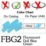 FBG2 - Fluorescent Dull Blue Green