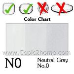 N0 - Neutral Gray No.0