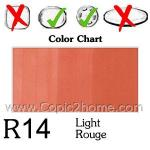 R14 - Light Rouge