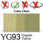 YG93 - Grayish Yellow