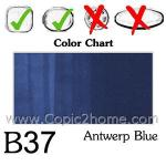 B37 - Antwerp Blue