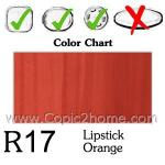 R17 - Lipstick Orange