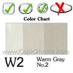 W2 - Warm Gray No.2