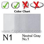 N1 - Neutral Gray No.1