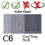 C6 - Cool Gray No.6