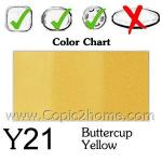Y21 - Buttercup Yellow