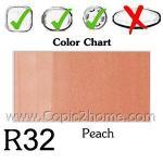 R32 - Peach