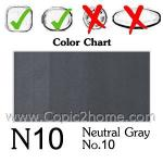 N10 - Neutral Gray No.10