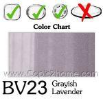 BV23 - Grayish Lavender
