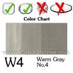 W4 - Warm Gray No.4