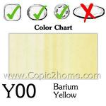 Y00 - Barium Yellow
