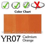 YR07 - Cadmium Orange
