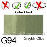 G94 - Grayish Olive