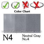 N4 - Neutral Gray No.4