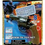 ปืนแก็ปเหล็ก (ดำ) DIE-CAST MAGNUM SHOT CAPS GUN [BLACK]