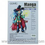 Manga Illustration Paper - Pure White, A4 Size, 65g. (30 sheets/pack)