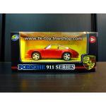 โมเดลรถเหล็ก porsche 911 carrera 1:42 (RED)
