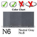 N6 - Neutral Gray No.6