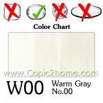 W00 - Warm Gray No.00