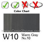 W10 - Warm Gray No.10