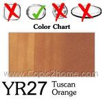 YR27 - Tuscan Orange