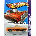 รถเหล็ก HOT WHEELS 83'CHEVY SILVERADO
