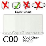 C00 - Cool Gray No.00