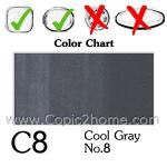 C8 - Cool Gray No.8