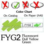 FYG2 - Fluorescent Dull Yellow Green