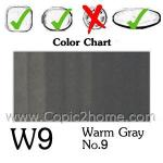 W9 - Warm Gray No.9