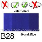 B28 - Royal Blue