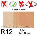 R12 - Light Tea Rose