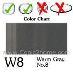 W8 - Warm Gray No.8