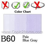 B60 - Pale Blue Gray