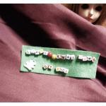 ผ้าลูกฟูกสีม่วงลอนเล็ก ขนาดลอน2 มิลลิเมตรหาจากในไทยค่ะแบ่งขายขั้นต่ำ1/4m (50x55cm) = 1 จำนวน