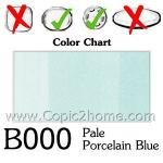 B000 - Pale Porcelain Blue