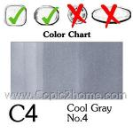 C4 - Cool Gray No.4